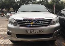 Cần bán xe Toyota Fortuner 2.5MT đời 2013, màu bạc