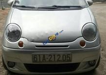 Bán xe Daewoo Matiz đời 2005, màu bạc, gia đình sử dụng