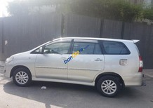 Cần bán gấp Toyota Innova sản xuất 2012, màu bạc, chạy đúng 78000km