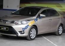 Bán xe Toyota Vios G 1.5AT sản xuất 2014, màu vàng cát