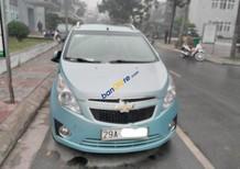 Cần bán gấp Chevrolet Spark đời 2011, màu xanh lam, số sàn