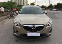 Cần bán gấp Mazda CX 5 đời 2014, màu vàng, nhập khẩu chính hãng