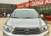 Cần bán gấp Toyota Highlander đời 2007, màu bạc, nhập khẩu chính hãng, chính chủ