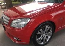 Bán Mercedes C200 2010 màu đỏ, xe cực đẹp không có chiếc thứ hai
