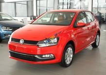 Bán ô tô Volkswagen Polo 1.6 AT đời 2017, màu đỏ, nhập khẩu, giá chỉ 695 triệu