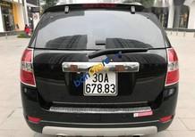 Bán Chevrolet Captiva MT năm 2009, màu đen chính chủ