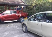Cần bán Mazda BT 50 2015, màu đỏ, nhập khẩu