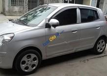 Cần bán gấp Kia Morning đời 2009, màu bạc chính chủ