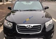 Cần bán xe Hyundai Santa Fe 4x4 đời 2012, màu đen, xe nhập chính chủ, 680tr