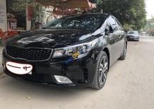 Bán Kia Cerato Signature 1.6 AT đời 2017, màu đen, giá 630tr
