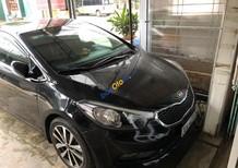 Cần bán lại xe Kia K3 1.6 MT 2014, màu đen số sàn, giá chỉ 495 triệu