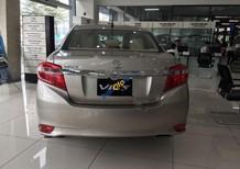 Cần bán Toyota Vios 1.5G năm 2018, màu ghi vàng