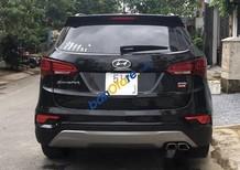 Bán Hyundai Santa Fe sản xuất 2017, màu đen như mới