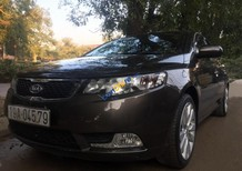 Cần bán Kia Forte SX 1.6 MT đời 2013, màu nâu xe gia đình, giá chỉ 415 triệu