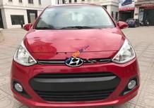 Bán Hyundai Grand i10 1.0AT đời 2016, màu đỏ, nhập khẩu
