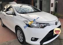 Cần bán xe Toyota Vios sản xuất 2016, màu trắng xe gia đình, giá tốt