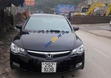 Cần bán xe Honda Civic đời 2008, màu đen