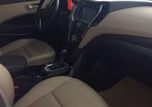 Bán gấp xe Santafe CRDi 4WD đời 2016 máy dầu