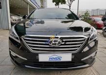 Bán Hyundai Sonata 2.0AT đời 2015, màu đen, nhập khẩu, giá tốt