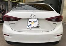 Bán Mazda 3 1.5AT đời 2015, màu trắng, giá chỉ 605 triệu