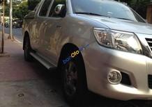 Bán Toyota Hilux năm 2012, màu bạc, xe nhập chính chủ, 490 triệu