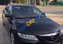 Cần bán Mazda 6 đời 2004, màu đen xe gia đình, giá 310tr