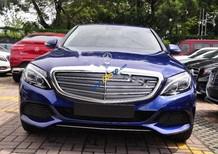 Cần bán Mercedes C250 đời 2018, màu xanh lam