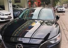 Cần bán lại xe Mazda 6 2.5 AT đời 2015, màu đen, giá 795tr