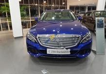 Cần bán xe Mercedes C250 Exclusive đời 2017, màu xanh lam