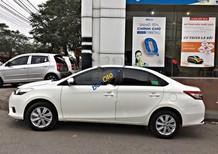 Cần bán xe Toyota Vios đời 2016, màu trắng