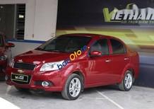 Bán ô tô Chevrolet Aveo LT 1.4MT đời 2017, màu đỏ, giá chỉ 376 triệu