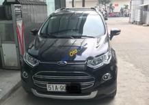 Cần bán lại xe Ford EcoSport đời 2014, màu đen chính chủ, giá 495tr