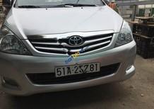 Bán gấp Toyota Innova G 2011, màu bạc, 485 triệu