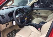 Bán Toyota Fortuner 2.7V 4x2 AT đời 2015, màu đỏ