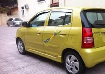 Cần bán lại xe Kia Picanto 1.1 AT đời 2007, màu vàng, xe nhập