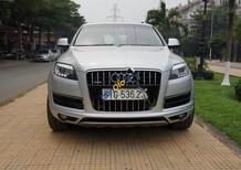 Xe Audi Q7 4.2 AT đời 2010, màu bạc, nhập khẩu nguyên chiếc