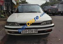 Cần bán lại xe Honda Accord đời 1990, màu trắng