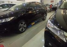 Bán ô tô Honda City đời 2016, màu đen số tự động