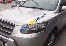 Cần bán Hyundai Santa Fe 2.0at AT đời 2008, màu bạc