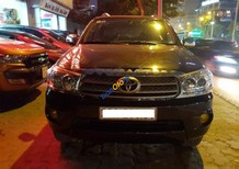 Bán Toyota Fortuner 2.7V 4x4 AT đời 2010, màu đen