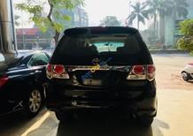 Bán Toyota Fortuner 2.7V 4x2 AT đời 2013, màu đen