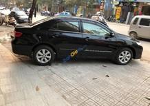 Cần bán xe Toyota Corolla altis đời 2012, màu đen