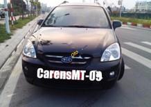 Bán Kia Carens 2.0 MT đời 2009, màu đen