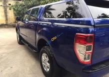 Bán xe Ford Ranger XLS 2.2L 4x2 AT đời 2014, màu xanh lam, nhập khẩu