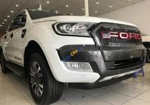 Bán xe Ford Ranger Wildtrak sản xuất 2016, màu trắng, nhập khẩu