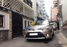 Bán Toyota Vios G đời 2017, màu vàng