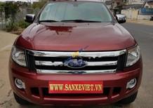Bán xe Ford Ranger XLT đời 2013, màu đỏ, nhập khẩu