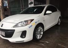 Cần bán lại xe Mazda 3 1.6 đời 2014, màu trắng chính chủ