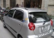 Bán Chevrolet Spark đời 2010, màu bạc
