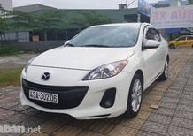 Cần bán lại xe Mazda 3 đời 2014, màu trắng, nhập khẩu